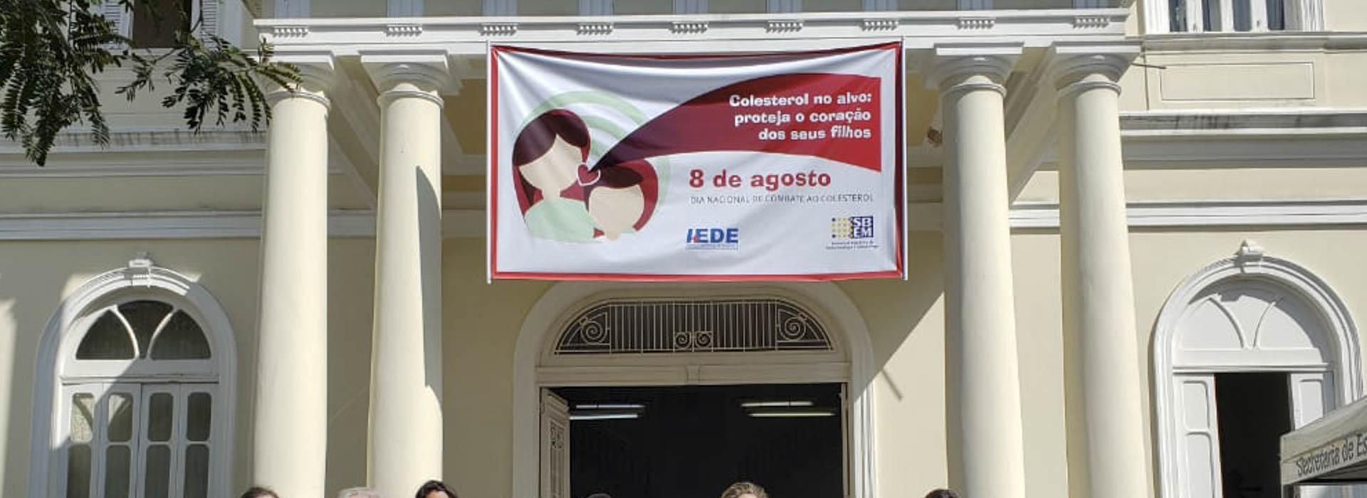 Campanha Colesterol: Ação no IEDE